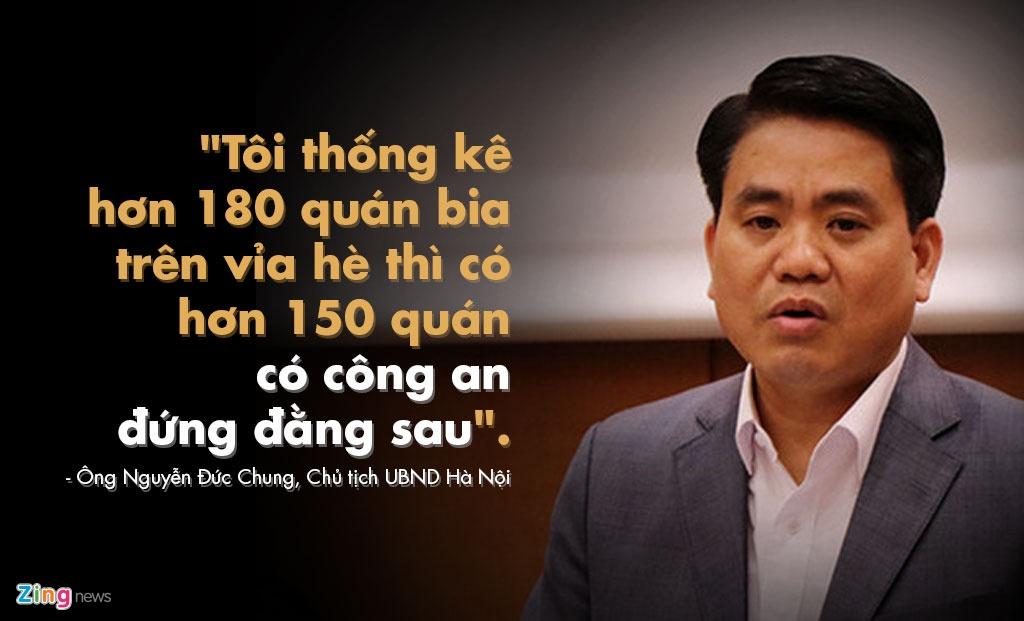 Phat ngon an tuong cua ong Nguyen Duc Chung ve viec gianh lai via he hinh anh 1
