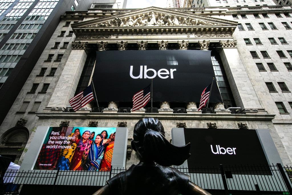 thiet hai cua Uber trong IPO anh 1