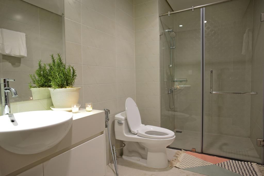 Lam moi can ho theo phong cach co dien chi voi 200 trieu dong hinh anh 11 toilet1.jpg