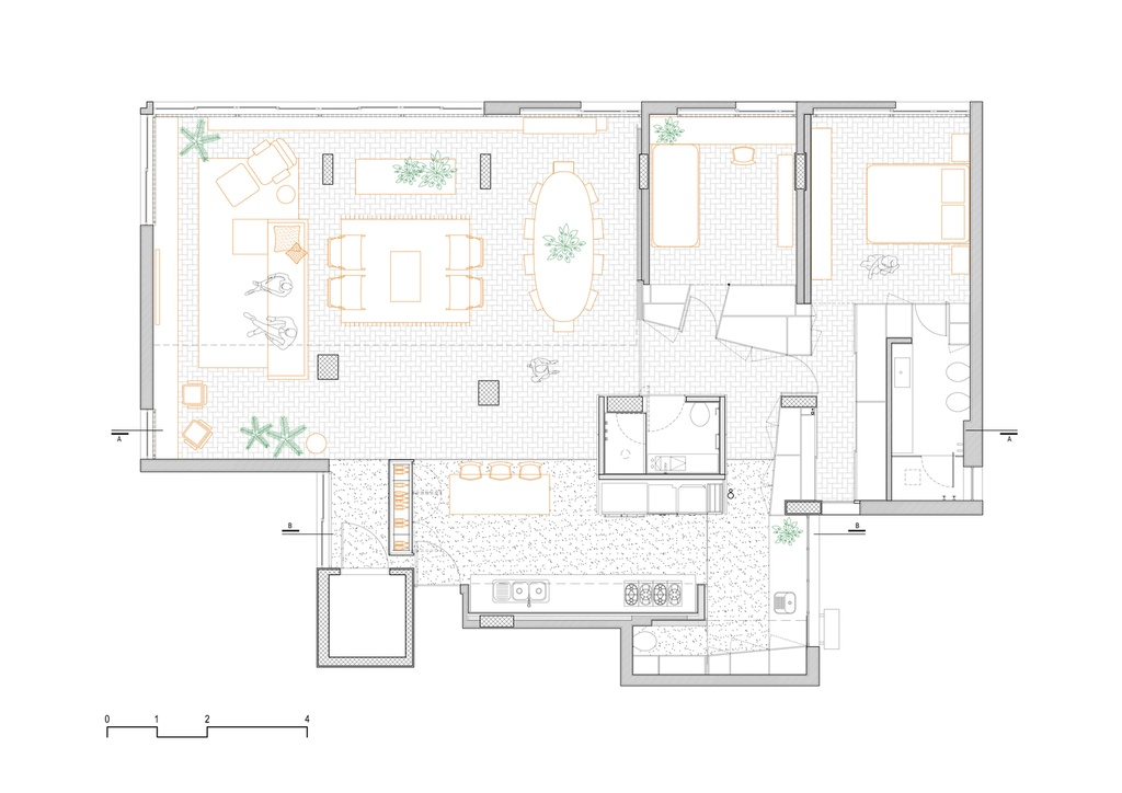 'Tai sinh' can ho 150 m2 anh 14