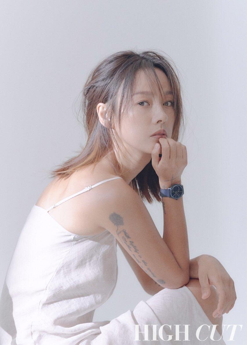Lee Hyori tao bao, bo quen noi y khi dien jeans yem tren tap chi hinh anh 2