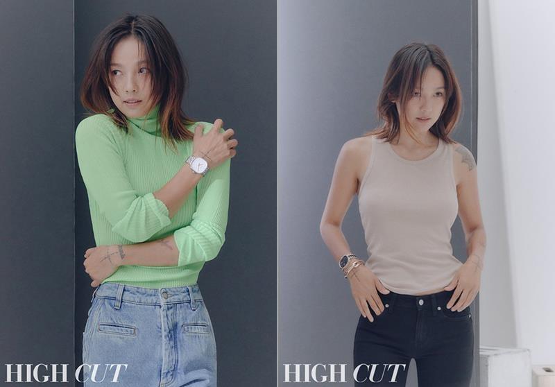 Lee Hyori tao bao, bo quen noi y khi dien jeans yem tren tap chi hinh anh 6