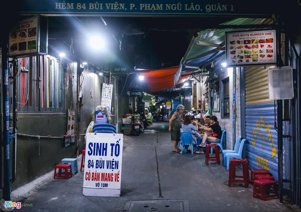 Pho Tay Bui Vien van diu hiu sau khi het cach ly xa hoi hinh anh 7 bv7_zing.jpg