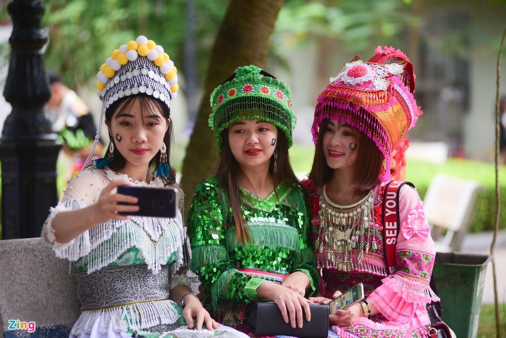 Sinh vien nguoi Mong rang ro don Tet giua Ha Noi hinh anh 7 DSC_5487_2_zing.jpg