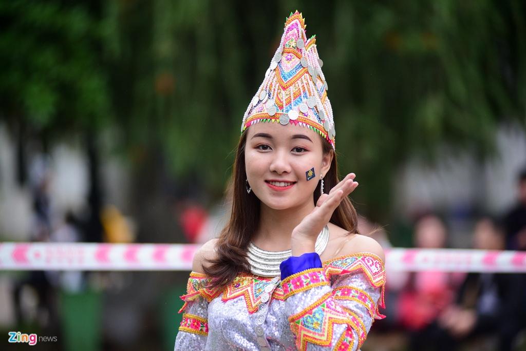 Sinh vien nguoi Mong rang ro don Tet giua Ha Noi hinh anh 10 DSC_5508_zing.jpg