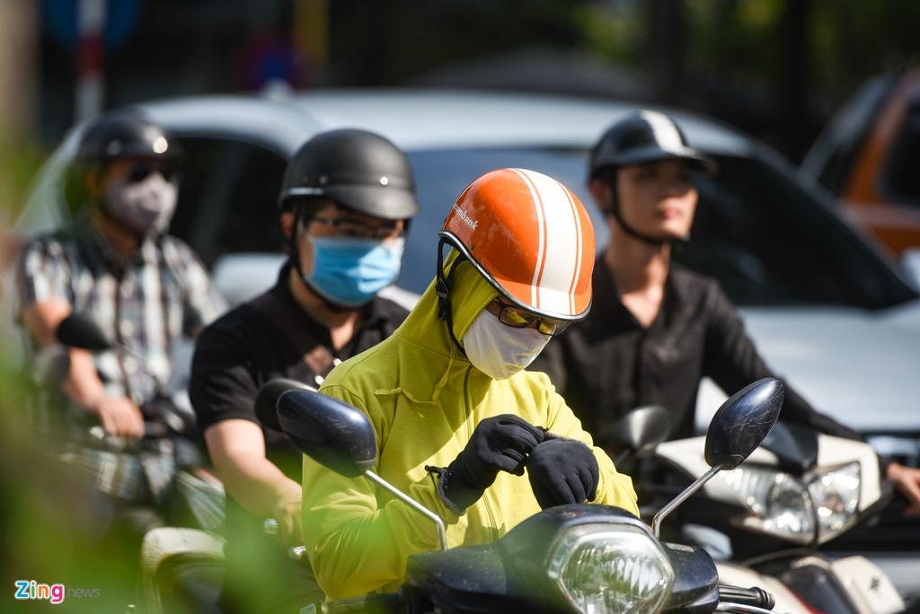Giao thong Ha Noi roi loan trong con mua sang dau tuan hinh anh 8 DSC_3125_zing.jpg