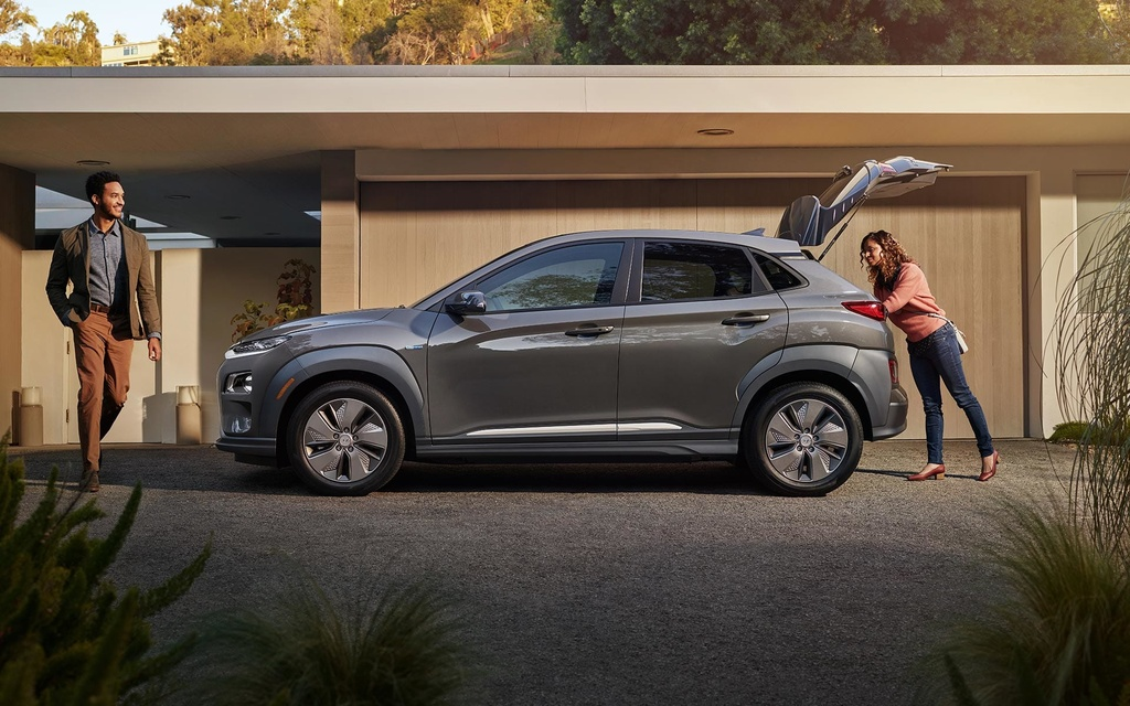 Hyundai Kona Electric 2019 gia duoi 30.000 USD anh 4