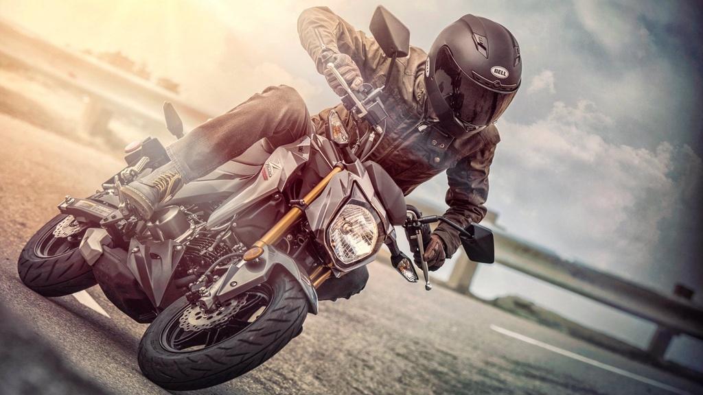 Kawasaki Z125 2019 ra mat - canh tranh Honda MSX anh 14