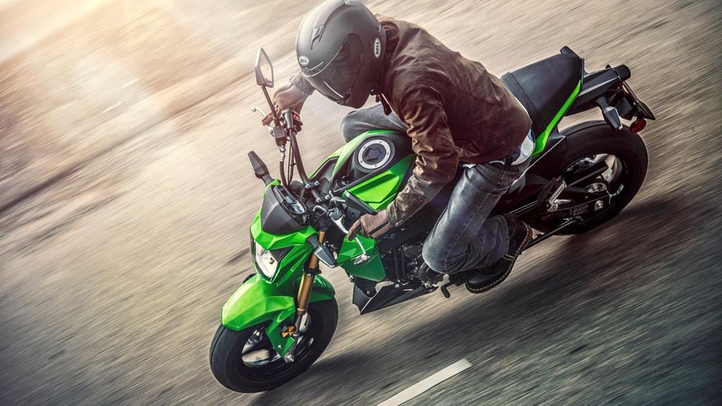 Kawasaki Z125 2019 ra mat - canh tranh Honda MSX anh 3