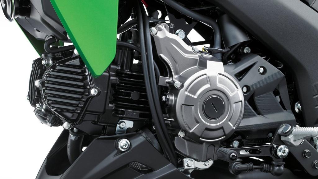 Kawasaki Z125 2019 ra mat - canh tranh Honda MSX anh 13