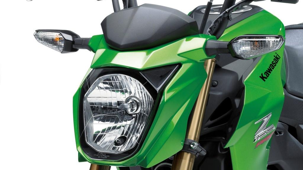 Kawasaki Z125 2019 ra mat - canh tranh Honda MSX anh 10