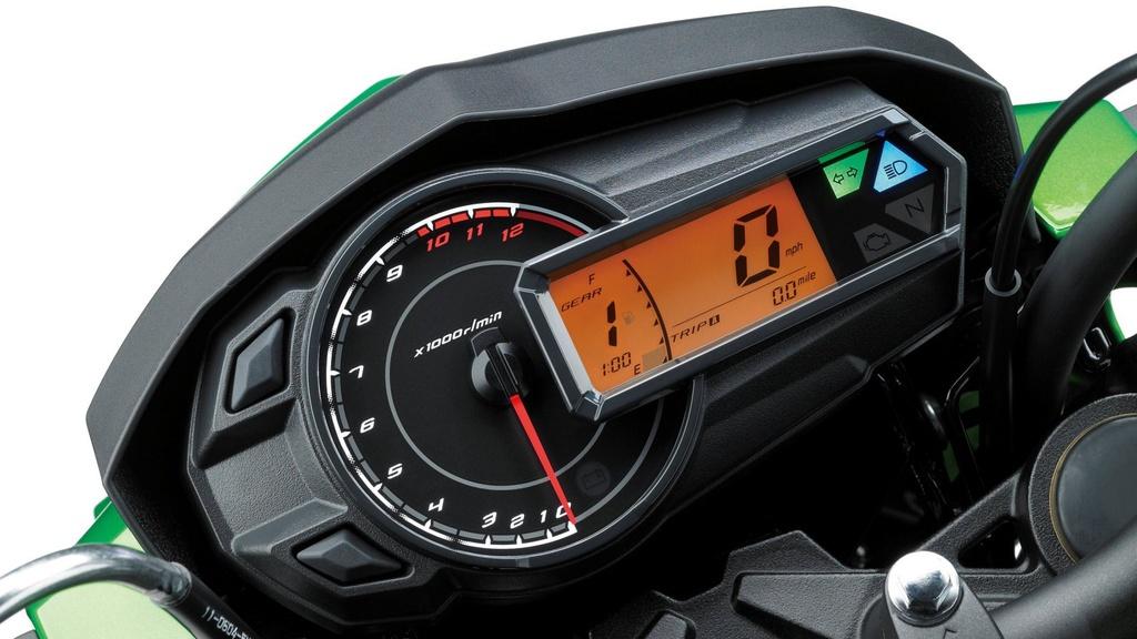 Kawasaki Z125 2019 ra mat - canh tranh Honda MSX anh 7