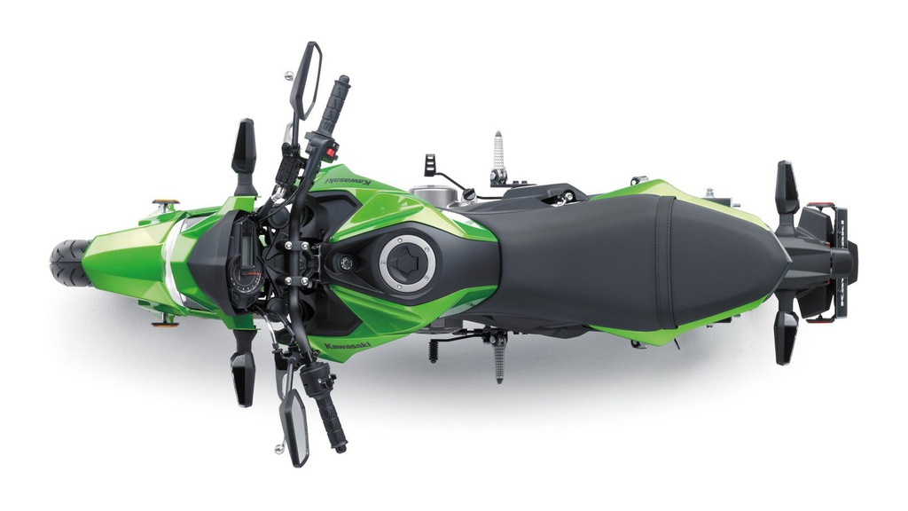 Kawasaki Z125 2019 ra mat - canh tranh Honda MSX anh 8