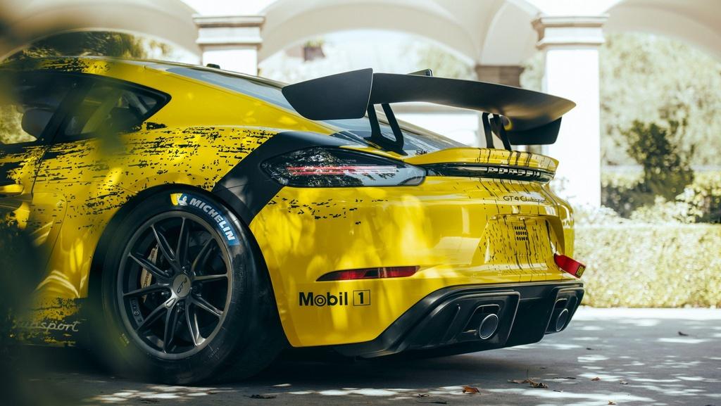 Porsche ra mat xe dua Cayman GT4 Clubsport anh 3