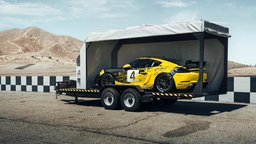 Porsche ra mat xe dua Cayman GT4 Clubsport anh 2