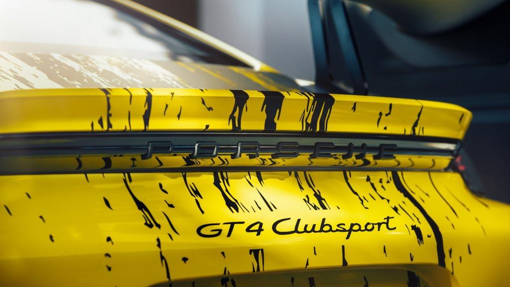 Porsche ra mat xe dua Cayman GT4 Clubsport anh 6