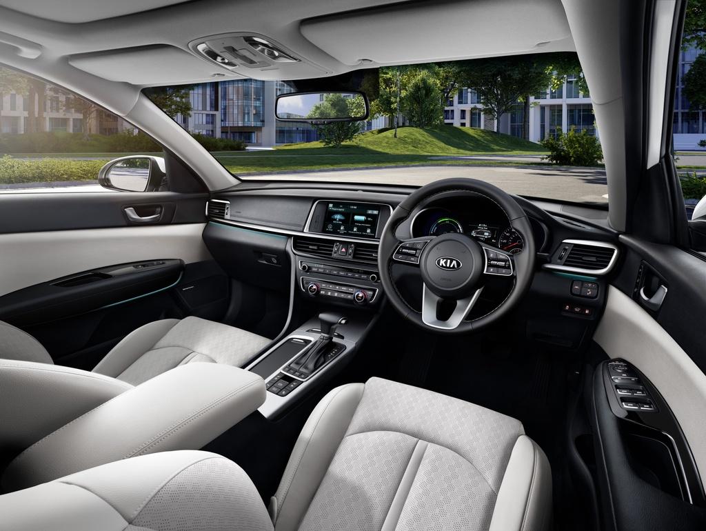 Kia Optima Sportswagon Hybrid 2019 chi ton 1,5L xang cho 100 km hinh anh 3