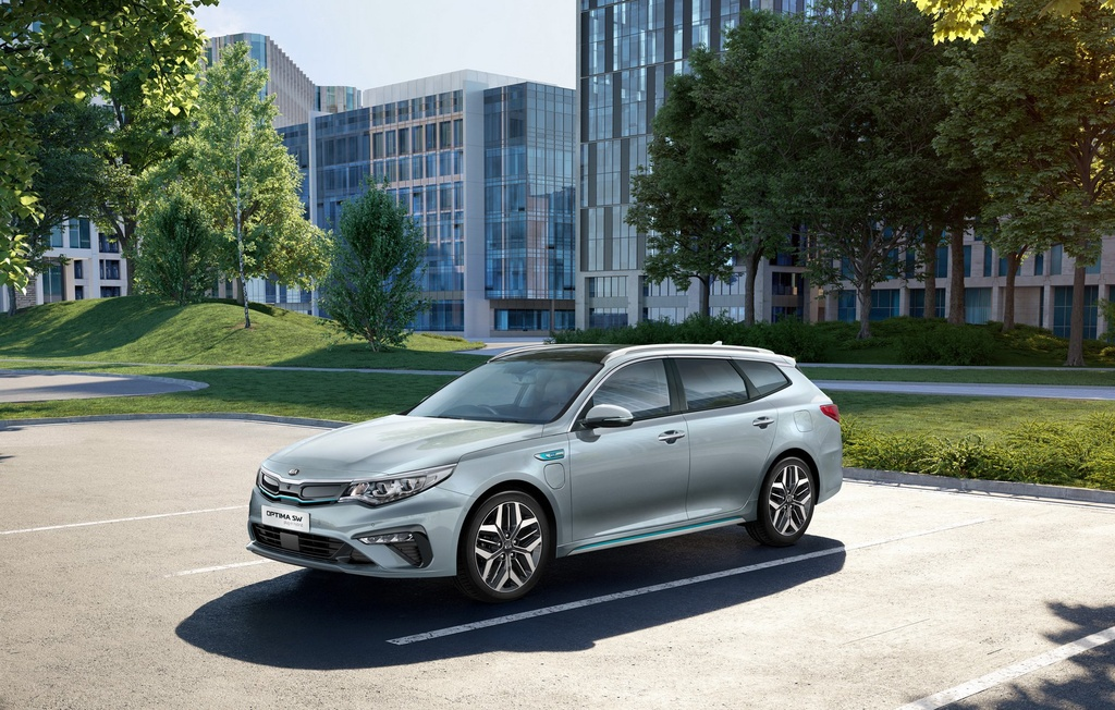 Kia Optima Sportswagon Hybrid 2019 chi ton 1,5L xang cho 100 km hinh anh 1