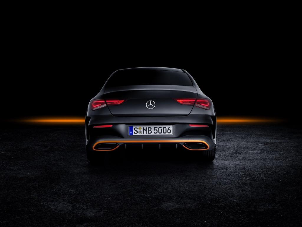 Mercedes-Benz CLA-Class the he moi ra mat anh 4