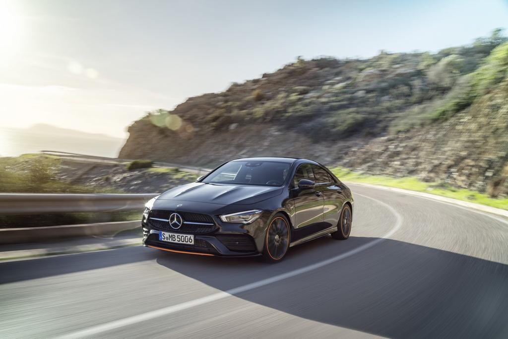Mercedes-Benz CLA-Class the he moi ra mat anh 6