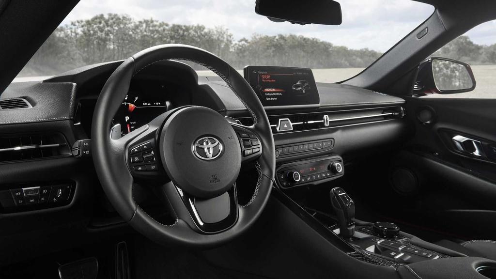 Huyen thoai Toyota Supra 2020 tai sinh anh 13