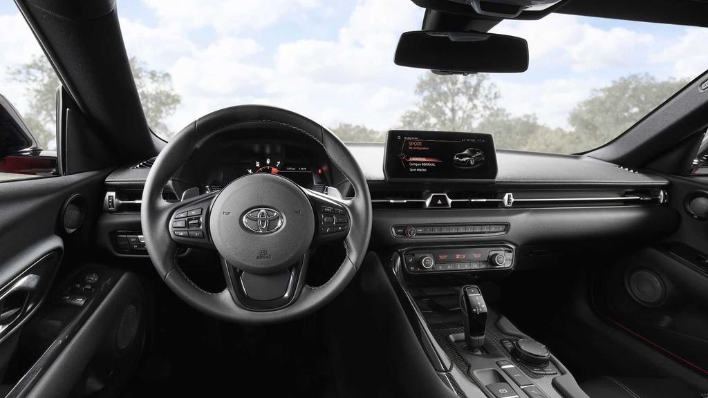 Huyen thoai Toyota Supra 2020 tai sinh anh 5