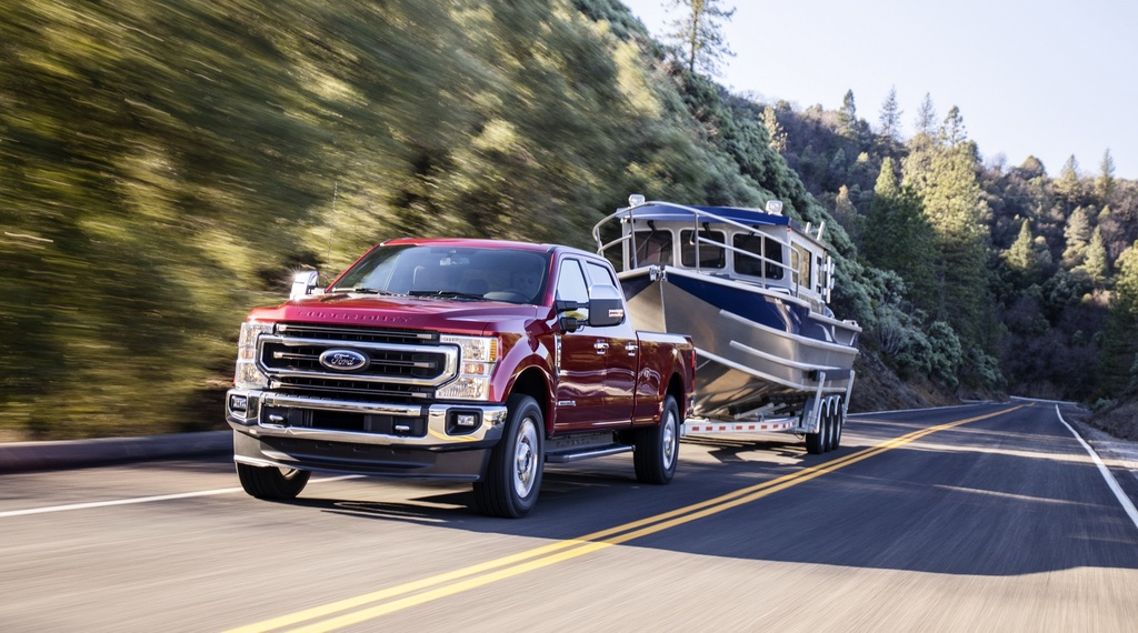 Ford F-Series Super Duty 2020 them dong co 7.3L, hop so 10 cap hinh anh 1