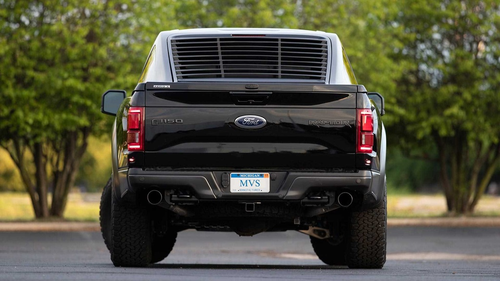 Ford F-150 ''lai'' voi Mustang anh 7
