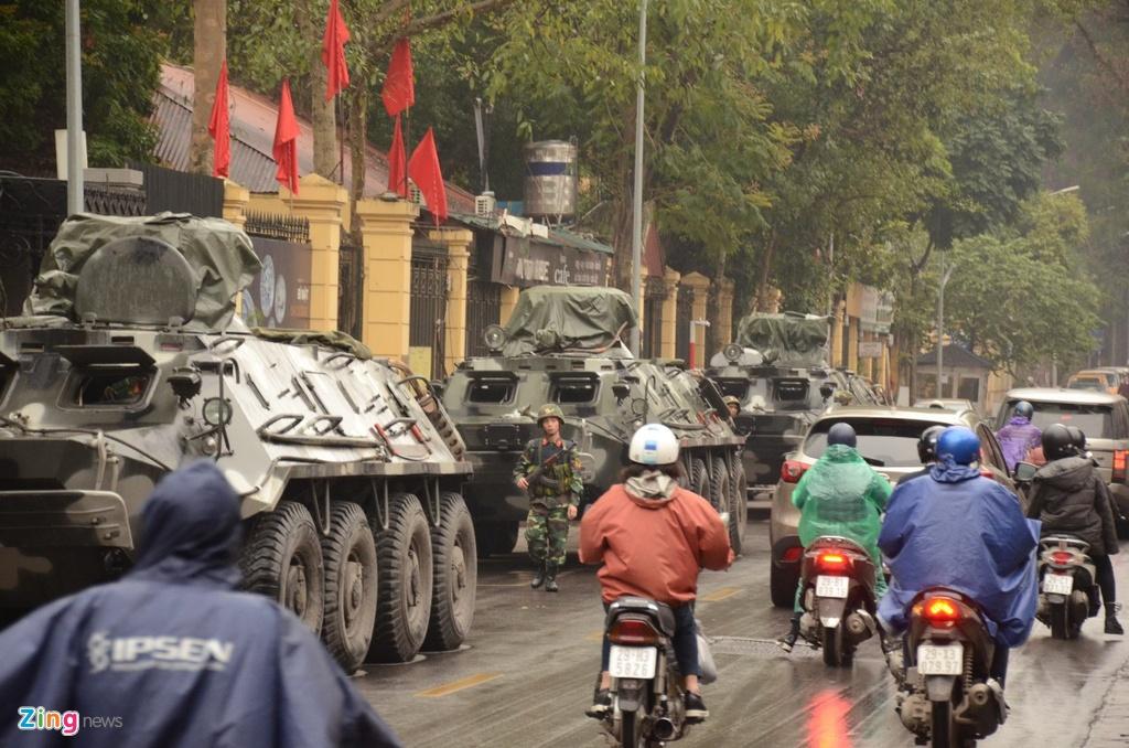 Doan xe Viet Nam phuc vu Hoi nghi My - Trieu anh 3