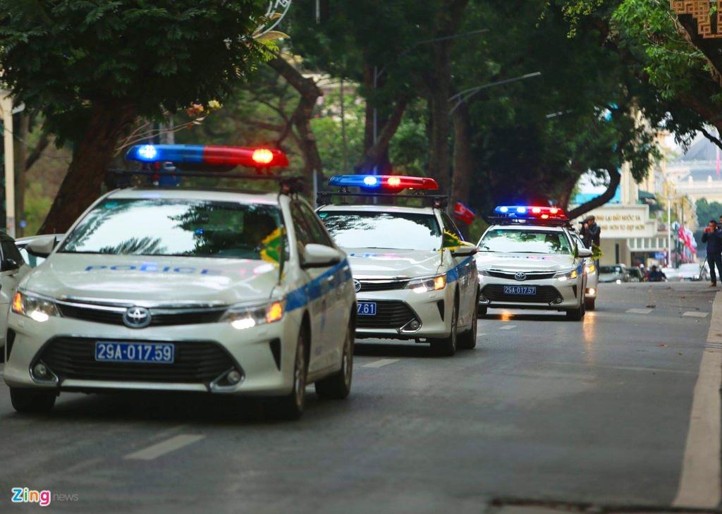 Doan xe Viet Nam phuc vu Hoi nghi My - Trieu anh 10