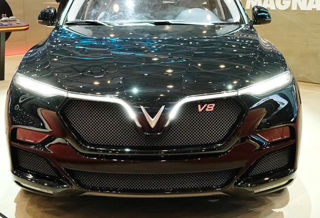 Khong phai VinFast,  nhung mau xe dong co V8 anh 1