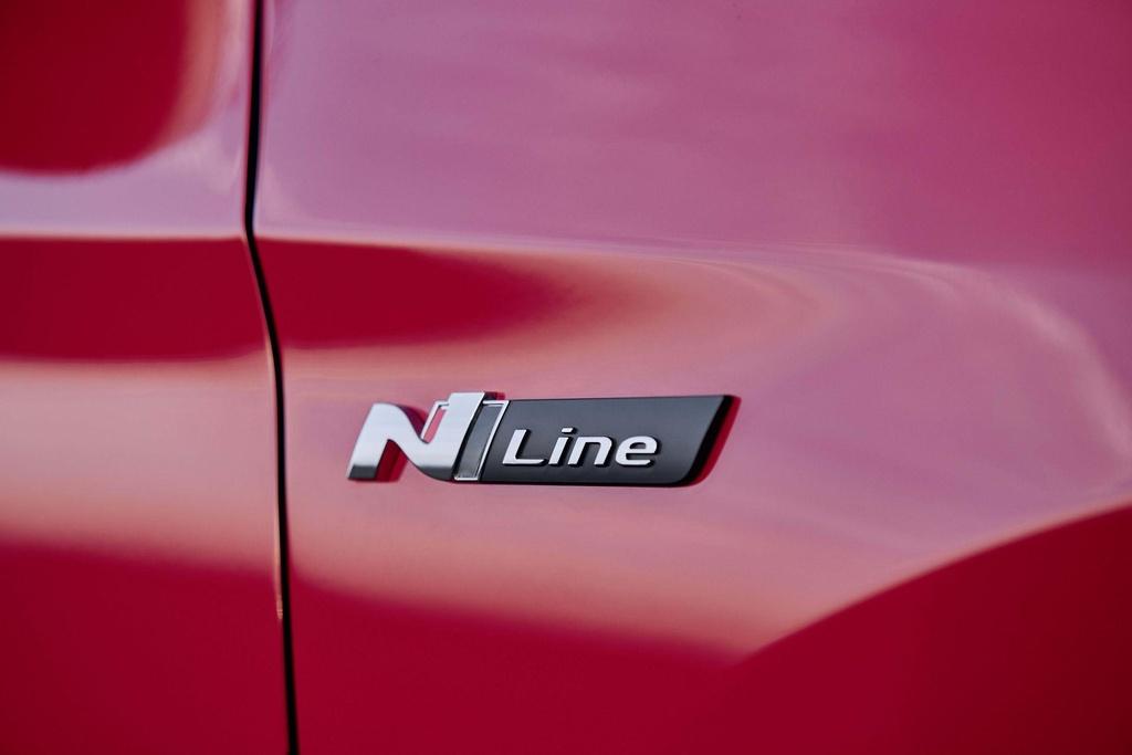 SUV 'hieu suat cao' Hyundai Tucson N Line, khong manh nhung dep hon hinh anh 3