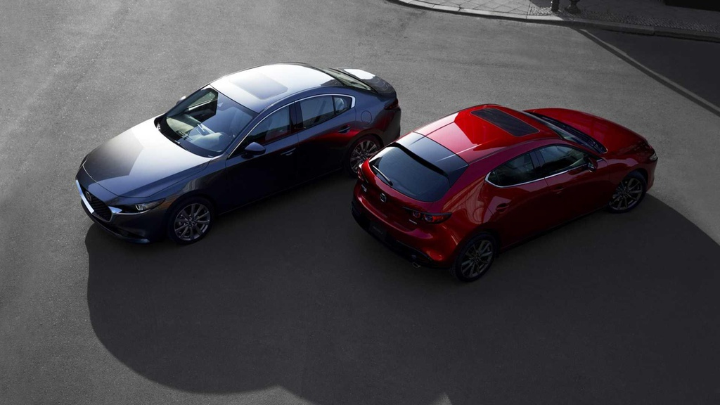 Mazda3 2019 ban 'full option' co gia 31.000 USD tai My hinh anh 1