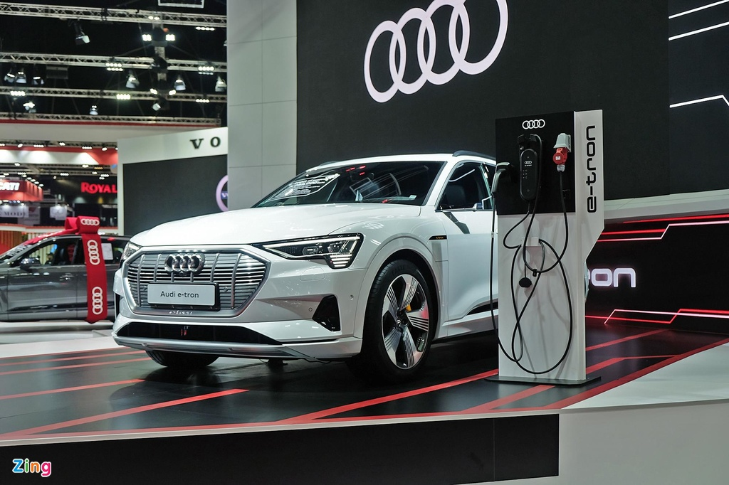 Audi e-tron ra mat Thai Lan anh 1