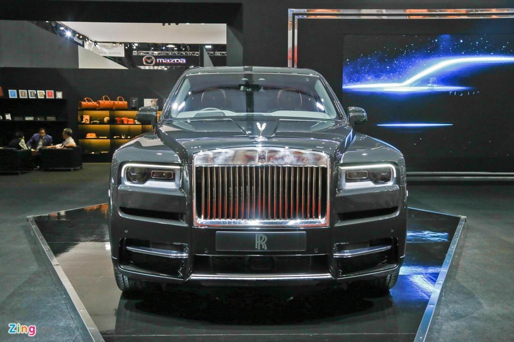 Ngam chi tiet SUV sieu sang Rolls-Royce Cullinan tren dat Thai hinh anh 5