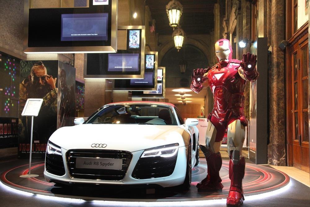 Nhung sieu xe da xuat hien ben canh Avengers anh 1