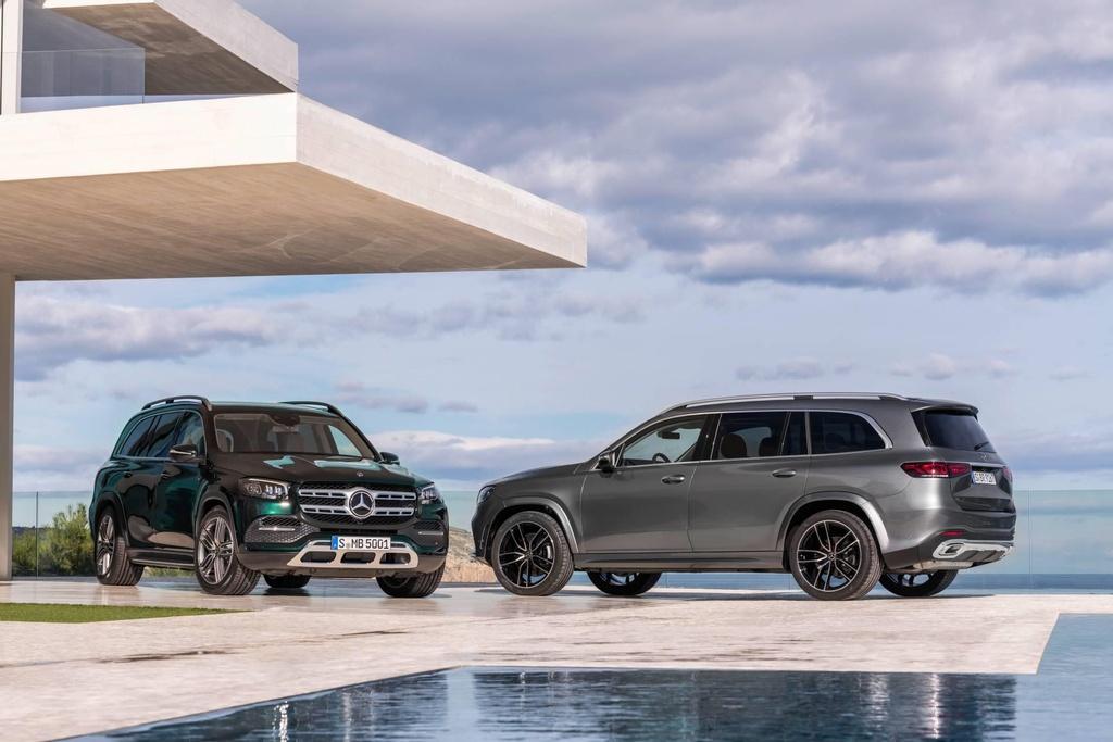 Mercedes-Benz GLS 2020 ra mat, loi dap tra cho BMW X7 hinh anh 2