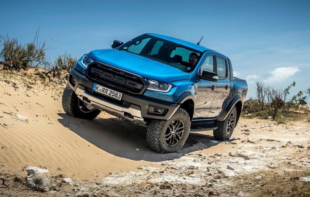 Ford Ranger Raptor tien danh thi truong chau Au anh 6