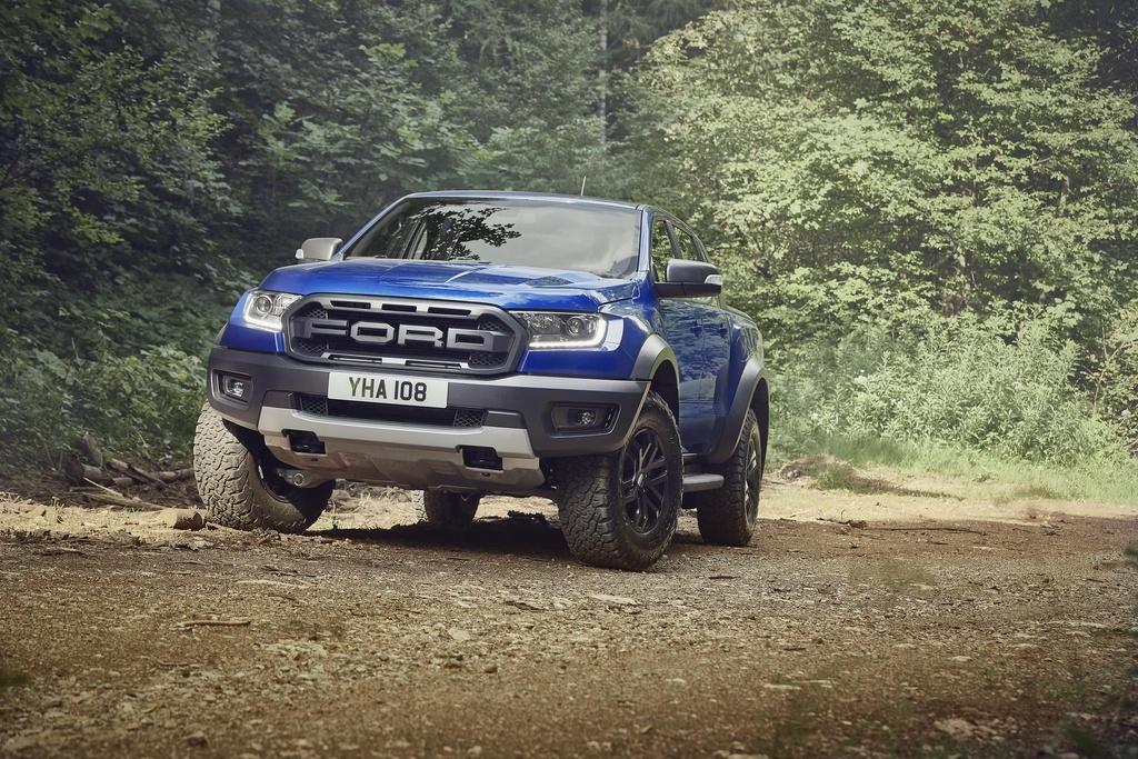 Ford Ranger Raptor tien danh thi truong chau Au anh 1