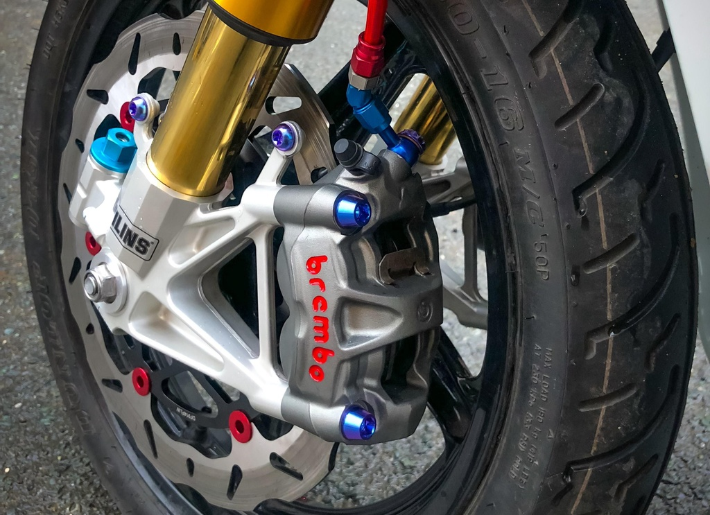 Honda SH 150i do giam xoc cua 'sieu moto' o Sai Gon hinh anh 4