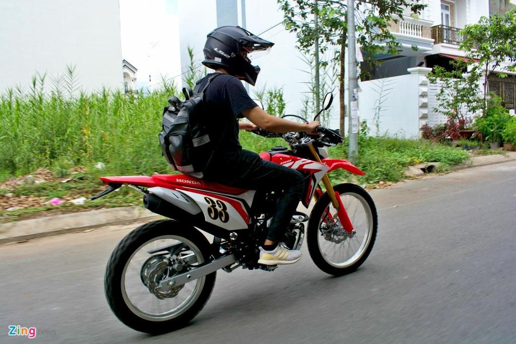 Honda CRF150L - xe cao cao cho nguoi nhap mon anh 8
