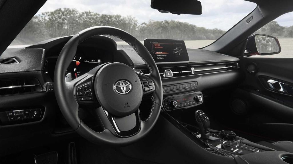 Toyota Supra ban dac biet cho nguoi may man anh 8