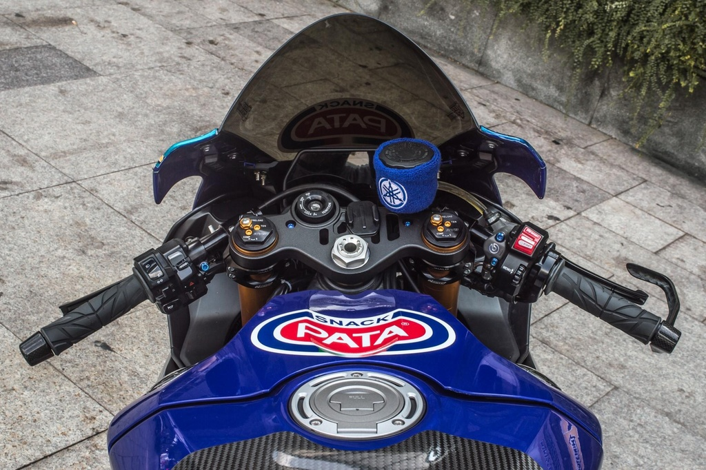 Yamaha R1 do phong cach xe dua tai Sai Gon hinh anh 5
