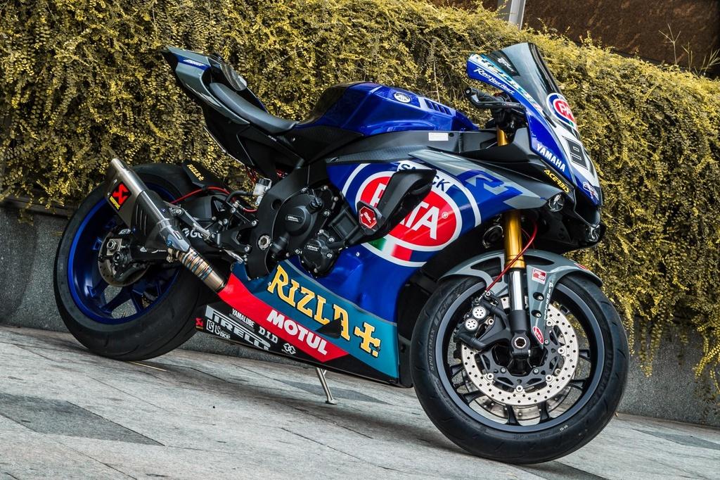 Yamaha R1 do phong cach xe dua tai Sai Gon hinh anh 11