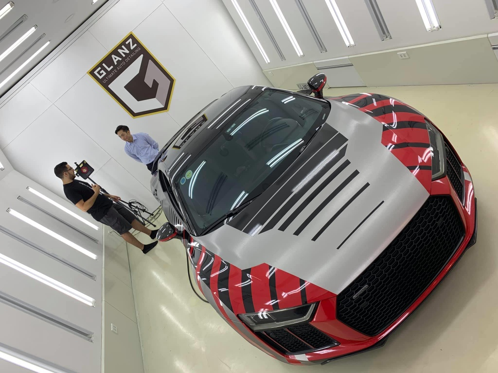 Cuong Do La su dung Audi R8 thay vi McLaren 720S anh 4