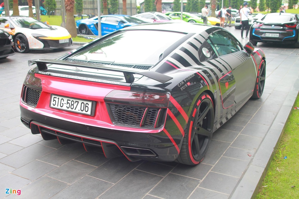 Cuong Do La su dung Audi R8 thay vi McLaren 720S anh 7