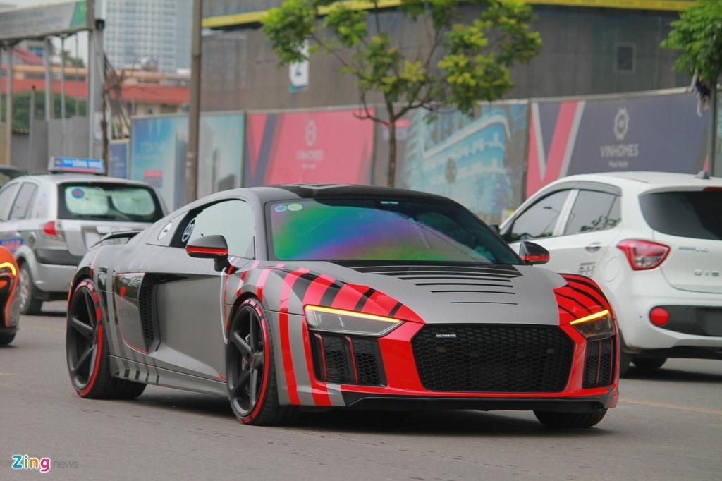 Cuong Do La su dung Audi R8 thay vi McLaren 720S anh 6