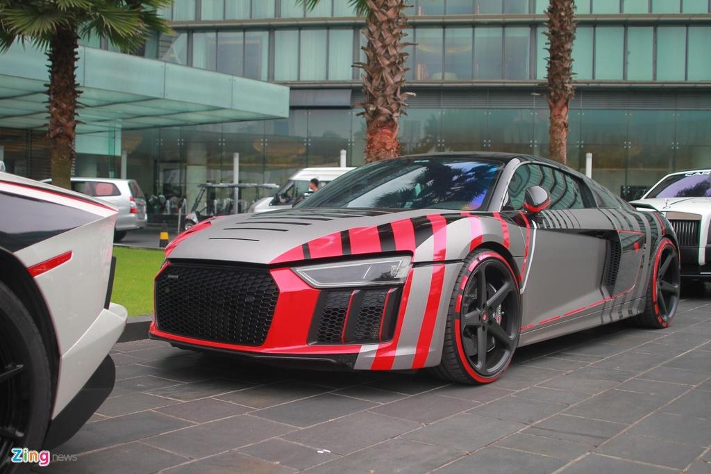 Cuong Do La su dung Audi R8 thay vi McLaren 720S anh 3