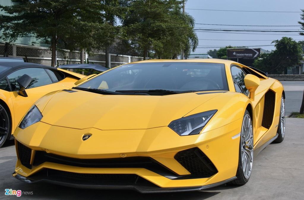 Lamborghini Aventador S - sieu xe dat gia nhat Car Passion 2019 hinh anh 5
