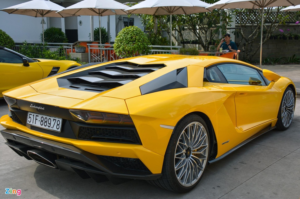 Lamborghini Aventador S - sieu xe dat gia nhat Car Passion 2019 hinh anh 7